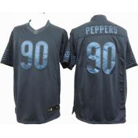 China Nike NFL Chicago Bears 90 Peppers blue drenched Jersey wholesale