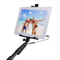 selfie stick with cable for mobile phone ipad tablets of hotelectronicprodu. Black Bedroom Furniture Sets. Home Design Ideas