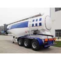 China 48CBM Bulker Cement Truck With Air Compressor And Diesel Engine wholesale