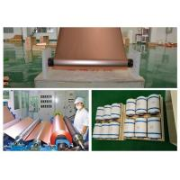 China ED Copper Shielding Foil Roll 150kg - 600kg Roll Weight Good Etch Ability wholesale