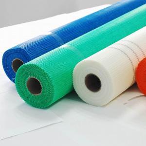 China 4x4mm 145g 1800n Strength Fiberglass Mesh Fabric wholesale