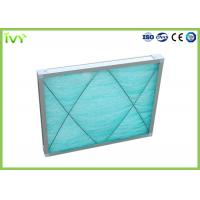 China G3 Fiberglass Spray Booth Air Filters , Air Purifier Filters Large Ventilation Quantity wholesale