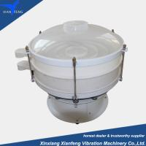 China Circular vibrating sieve plastic  material vibrator screening machine wholesale