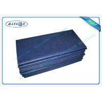 China Eco - Friendly SS Non Woven Disposable Bed Sheet For Patient Bed / Beauty Salon wholesale
