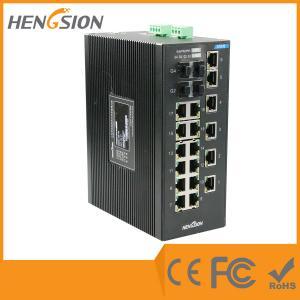 China Unmanaged EIB28-18E-4G Industrial Ethernet Switches 1000Base-X SFP Port wholesale