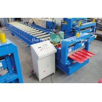 China Asia Market 914 Material Roof Sheet Making Machine With SImens PLC Control on sale