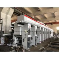 China Roll To Roll Multi Colour Rotogravure Printing Machine / Plastic Gravure Printing Machine wholesale