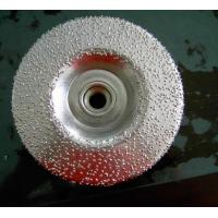 China Vacuum brazed diamond cup wheel wholesale
