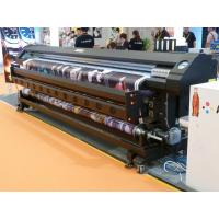 China 3.2m Double Side Eco Solvent printer with 2 pcs DX7 Head for high level Advertisement wholesale