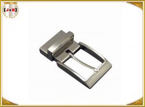 China Shiny Gunmetal  Zinc Alloy Custom Belt Buckle Special For Men , Inner Size 35 Mm wholesale