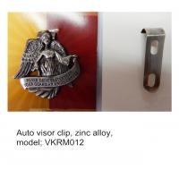 China Metal Guardian Angel Auto Visor Clip, ready mold, Guardian Angel automobile visor clips, on sale