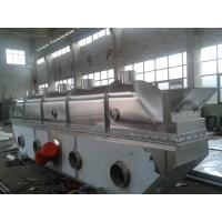 China Vibrating Continuous Fluid Bed Dryer Machine Fully Closed Structure For Chemical Industries on sale