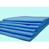 China Blue / Pink Hospital PP Spunbond Nonwoven Disposable Bed Sheet In Surgical wholesale