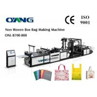 China Shopping Bag Automatic Non Woven Bag Making Machine With Ce Certification wholesale