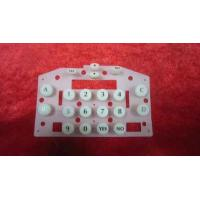 China Membrane Switch Silicone Rubber Number Keypads Customized Silicone Rubber Mold wholesale