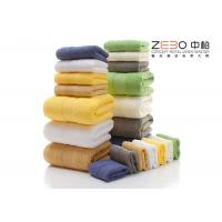China Comfortable Hotel Hand Towels 100 Cotton White / Green / Pink / Blue Color wholesale