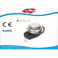 China KSD302-111 Temperature Switch Thermostat , Bimetal Disc Thermostat Automatic Reset wholesale