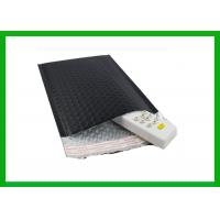 China Cold Shipping Black Foil Bubble Padded Mailers Durable Material on sale