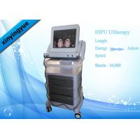 China Skin tightening / lift Equipment HIFU Face Lifting Machine With Touch Screen on sale