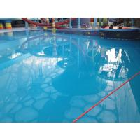 China Waterproof Polyaspartic Coating Projects-Water Cube Swimming Pool and Water Amusement Park wholesale
