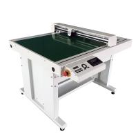 China Multifunctional Flatbed Paper Cutter , Paper / Carton Die Cutting Machine 600 X 900mm wholesale
