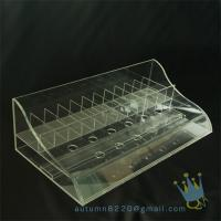 China clear plastic storage box divided wholesale