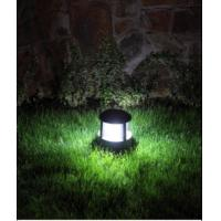 Quality Aluminum delicate 14LED solar lawn lights solar yard lamp solar garden lighting for decoration Chinese manufacturer for sale