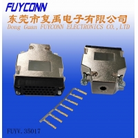 China Phosphor Bronze Female 30U V.35 Router Connector With Plastic Case on sale