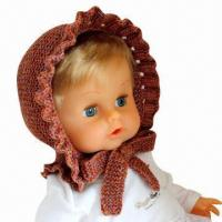 Buy cheap Hand Crochet Knitted Hat for Children, Animal Hat, Christmas Hats, OEM Orders from wholesalers