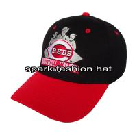 Buy cheap High quality flex fitted mesh sport baseball cap with plain embroidery logo from wholesalers