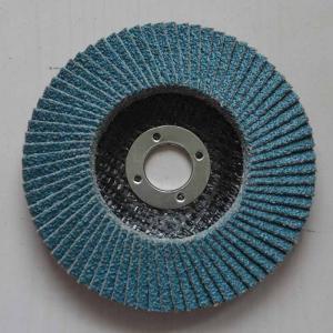 China High Density Angle Grinder Abrasive Flap Disc Zirconia aluminium oxide Conical Fiberglass on sale