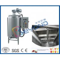 China Electrical Control Chocolate Holding Tank , SUS304 Stainless Steel Food Grade Tank on sale