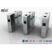 China Metal Security Flap Barrier Gate 304 SS Access Control System With Fingerprint wholesale