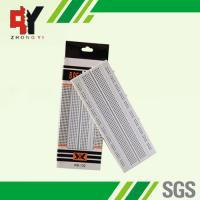 China Solderless Pure White Electronic Breadboards Without Color Printed wholesale