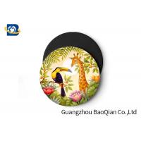 China Wild Animal Art Image Lenticular Coasters 3D Decoative Cup Placemat 0.6MM PET wholesale