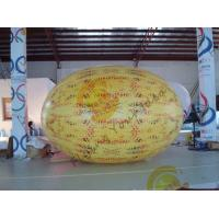 China Gaint Inflatable Melon Fruit Shaped Balloons UV Printing 4m Long wholesale
