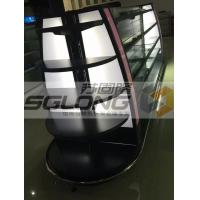 China Professional Retail Gondola Shelving , Cosmetics Display Racks With LED Light wholesale