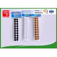 Buy cheap Custom small packing self adhesive hook and loop Sticky hook and loop Dots for supermarket from wholesalers