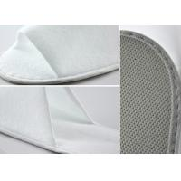 Quality Home Hotel Disposable Slippers / Waffle Spa Slippers Open Toe Style for sale