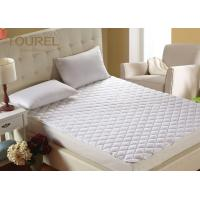 China Luxury Terry Cloth Hotel Bed Protector Waterproof  TPU On Elastic Against Perspiration Liquid wholesale