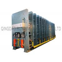 China Steel Cord Rubber Conveyor Belt Vulcanizing Press Machine With 1.10MN Tension Force on sale