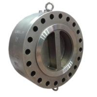 China Dual Plate Forged Steel Valves , Swing Check Valve Wafer - Lug Type on sale