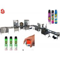 China Precision Automatic Aerosol Filling Machine for Mosquito Aerosol Can 800-1100cans/hour wholesale