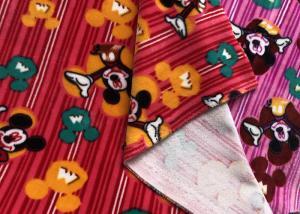Printed Stretch Velboa Minky Plush Fabric