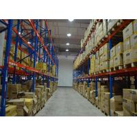 China Q235B Steel Industrial Warehouse Shelving Systems Heavy Duty Rack Anti Corrosion wholesale