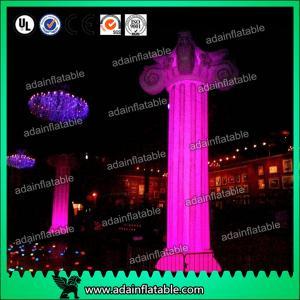 China Lighting Inflatable Marble Pillar Roman Column wholesale