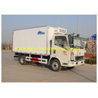 China Sinotruk small Box Van Truck 4X2 10 tons 120HP 2800mm Wheel base wholesale