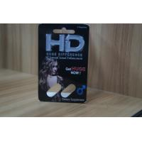 China Recycled Blister Pack Packaging For HD Male Sexual Enhancement Capsule wholesale
