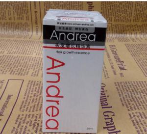 China Andrea anti hair loss essence effective hair regrowth herbal formula hair growth treatment on sale