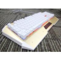 Buy cheap High End Tri Color LED Bluetooth Backlit Keyboard Programmable Gaming Keyboard from wholesalers